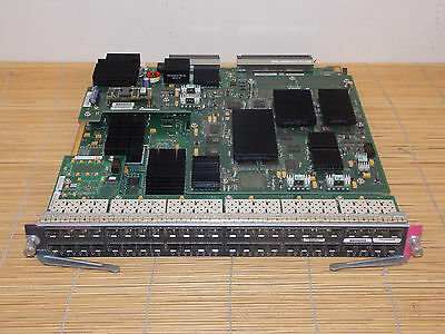 Cisco WS-X6748-SFP Gigabit Ethernet Interface Module with WS-F6K-DFC4-A