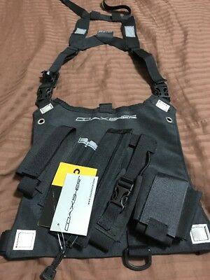 NWT Coaxsher Chest Harness, Radio Holster