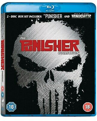 The Punisher/The Punisher: War Zone (with UltraViolet Copy) [Blu-ray]