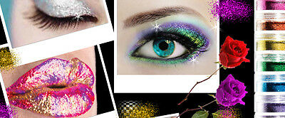 Cosmetic Glitter Medusa's Makeup Festival Costume Burlesque Vegan Face Body Nail