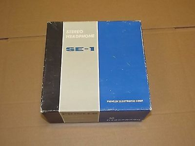 Pioneer SE-1 Vintage Stereo Headphone with original box and manual
