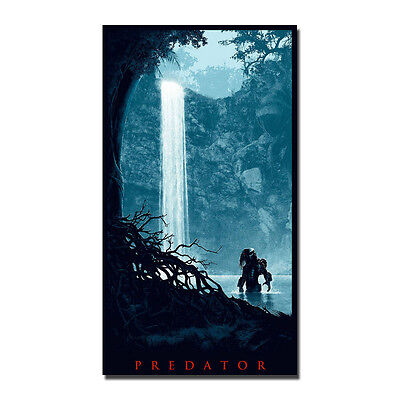 Predator 2 Classic Movie Silk Poster Art Prints 12x21inch Home Wall Decoration