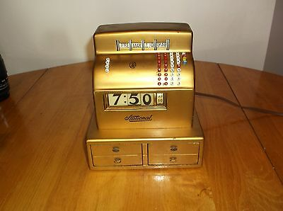 Extremely Rare, Vintage National Cash Register, Clock, Only One On Ebay