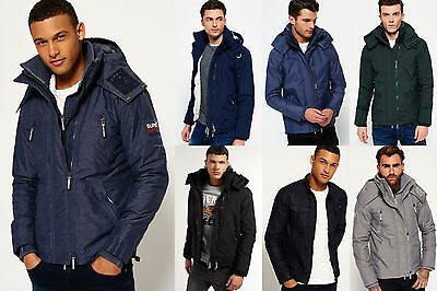 New Mens Superdry Jackets Selection - Various Styles & Colours 2208