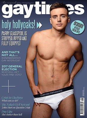 Gay Times Magazine Gt 472 June 2017 Hollyoaks Parry Glasspool Bananarama New