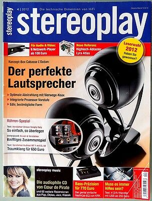 STEREOPLAY 4/2012 April 2012 Hifi Zeitschrift 04/12 04 2012 stereoplay