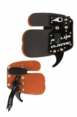 New Avalon Archery Prime Leather Finger Tab Twin Layer Extra Protection
