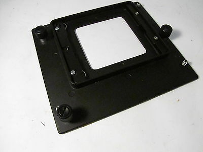 BESELER ENLARGER STANDARD LENS MOUNT ADAPTER HOLDER 10-49524 for 23C & 45