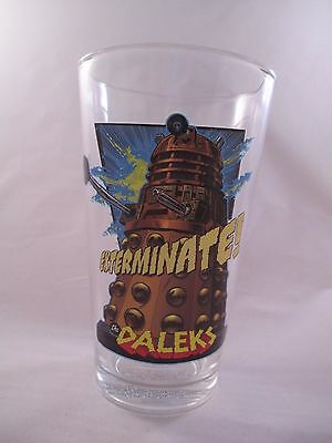 """Doctor Who ~ Daleks """"Exterminate!"""" ~ Drinking Glass by Vandor"""