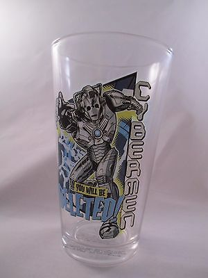 """Doctor Who ~ Cybermen """"Deleted!"""" ~ Drinking Glass by Vandor"""