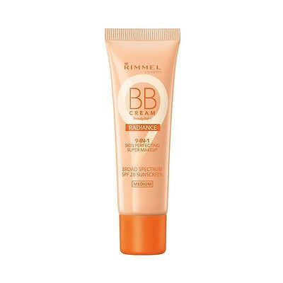 Rimmel BB Cream Radiance 9-in-1 Skin Perfecting - Medium 30 Ml
