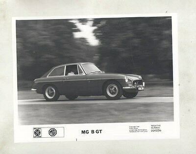 1971 MG MGB GT ORIGINAL Factory Photograph wy4166