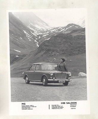 1965 ? MG 1100 Saloon ORIGINAL Factory Photograph wy4191