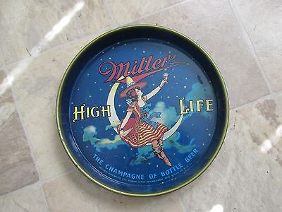 Miller High Life Girl In The Moon Beer Tray
