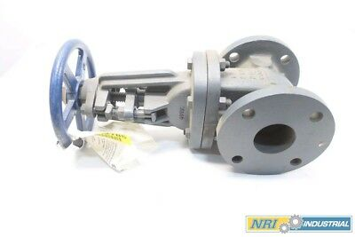 New Nibco F-617-0 2-1/2 In 125 Iron Flanged Wedge Gate Valve D574546