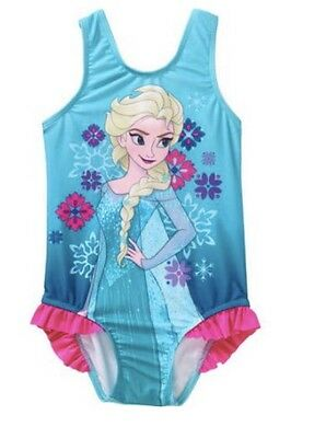 New- Disney Frozen Elsa One Piece Swimsuit Size 4T Nwt