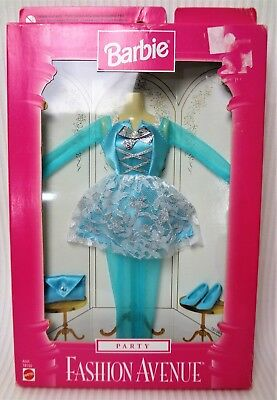 Barbie 1997 Party Fashion Avenue Outfit in a worn box