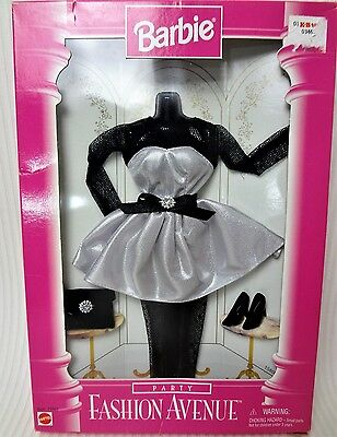 Barbie 1996 Party Fashion Avenue Outfit in a worn box