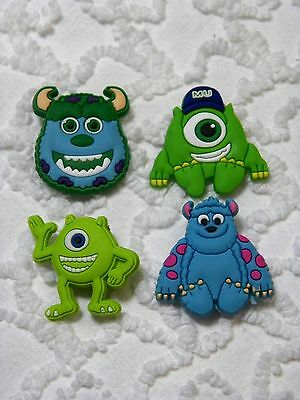 C 363 US Seller Monster Inc. University Shoe Charms Will Also Fit Jibitz,Croc