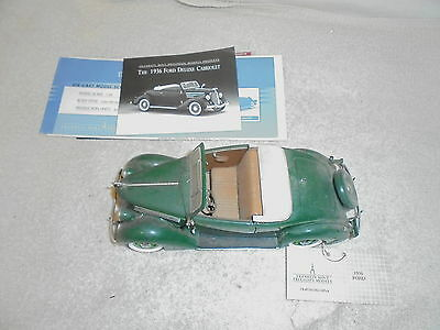 Franklin Mint  1936 Ford Deluxe Cabriolet diecast model car