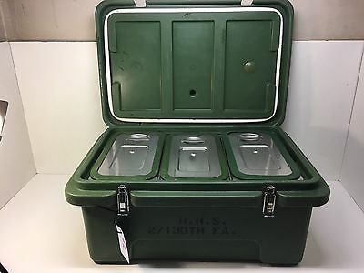 """Cambro 8"""" Deep Food Carrier 180 Mpc Partys Picnic Catering Hot/cold Used #2"""