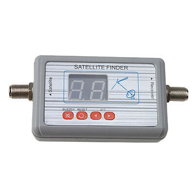 WS-6903 Digital Satellite Signal Finder Directv Meter LCD Buzzle for TV P4D9