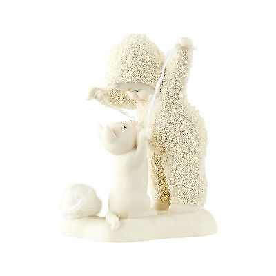 Department 56 Christmas Snowbabies Classic 4.3in Cats Play Figurine 4051861