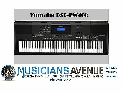 YAMAHA PSREW400 76 Note Super Arranger Keyboard Psr EW400 - BRAND NEW!!