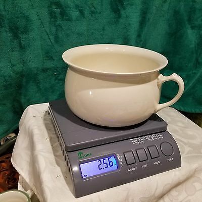 VINTAGE Chamber Pot  Cream Color Made In England 5 X 8