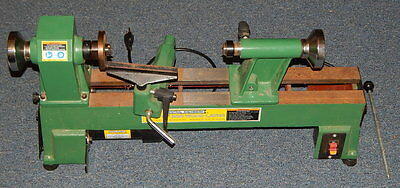 """Central Machinery 10"""" X 18"""" MINI WOOD LATHE Working 5 Speed"""
