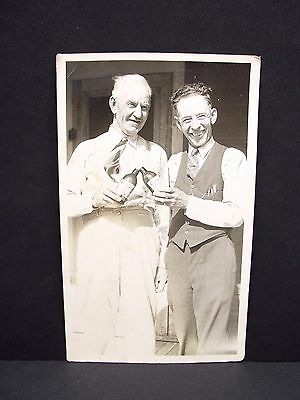 Vintage Coors Beer Bottle Men Toasting Black White Photo Free Shipping