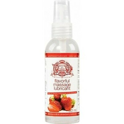 Touche Ice Lubricant Edible Strawberry 80 Ml High Quality Sexual Lubricant
