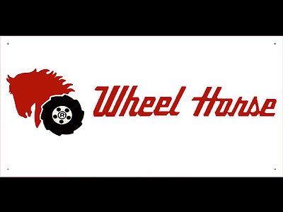 Advertising Display Banner for Wheel Horse Sales Service Parts