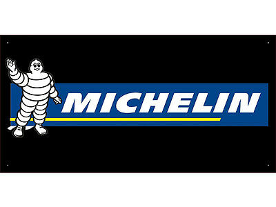 Advertising Display Banner for Michelin Tires Sales Service Parts