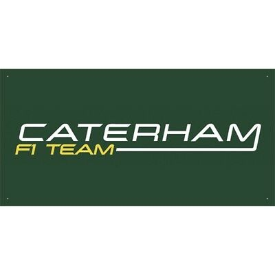 Advertising Display Banner for Caterham F1 Team Sales Service Parts