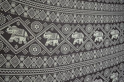 Elephant Print Summer Sarongs, Swimwear Tribal Pareo Scarves Holiday Accessories
