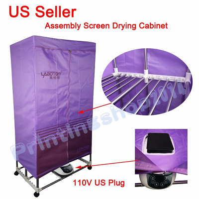 Simple Screens Drying Cabinet Assembly Folding for Silk Screen Printing