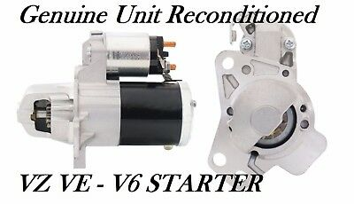 Holden VZ VE Starter Motor Commodore  V6 LY7 3.6L  RECON Genuine M000T35272 ---