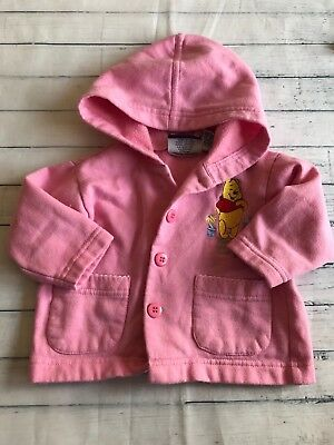Baby Girls Clothes 9-12 Months - Cute Disney Pink Jacket -