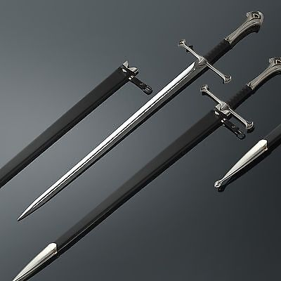 (PREORDER 2 WEEKS) LORD OF THE RINGS- ANDURIL, SWORD OF ARAGORN (FREE stand inc)