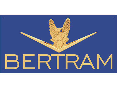 Advertising Display Banner for Bertram
