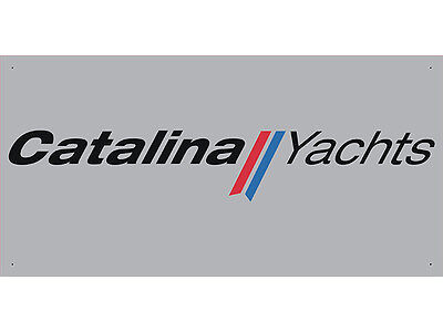 Advertising Display Banner for Catalina Yachts