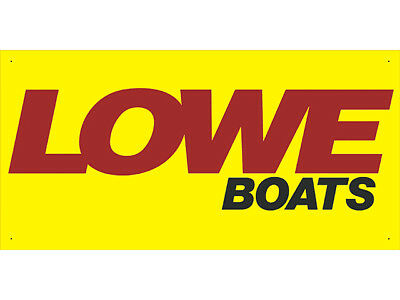 Advertising Display Banner for LOWE Boats