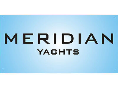 Advertising Display Banner for Maridian Yachts