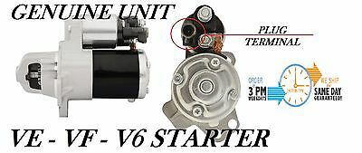 Holden VE VF Starter Motor Commodore  V6 LLT LFX 3.6L  RECON Genuine M000T35275