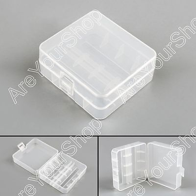 Battery Storage Case Box Holder For 2 Cell 26650 Battery Protection