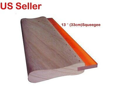 Silk Screen Printing Squeegee Ink Scraper Scratch Board Wholesale Price 13 inch