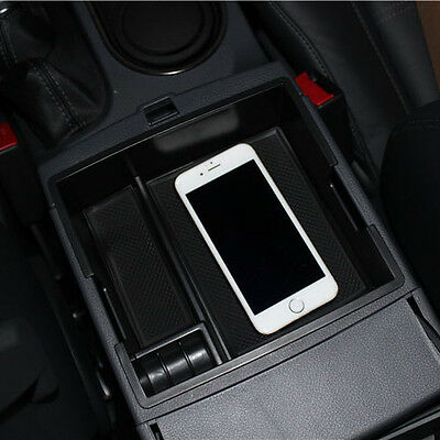 Armrest Storage Box For 2016 2017 Ford Everest Center Console Bin Glove Tray