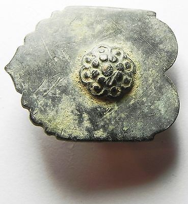 Zurqieh -  Holy Land. Roman Bronze Belt Buckle. 200 - 300 A.d