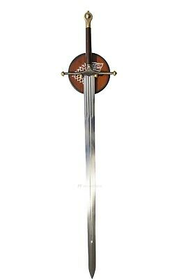 GAME OF THRONES - ICE, EDDARD STARK'S SWORD (HBO EDITION with FREE wall plaque)